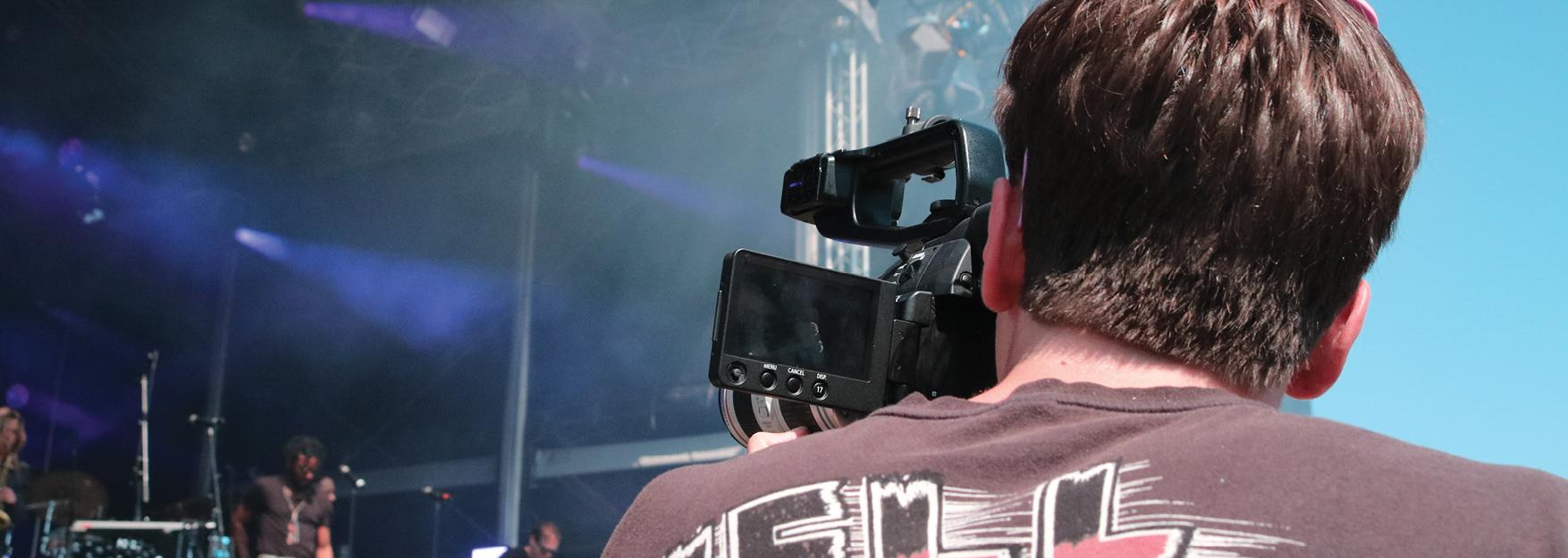 Bevrijdingsfestival-Cameraman
